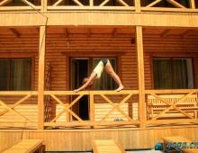 Хатха на балконе