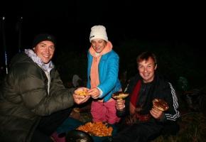 Карпаты угощали грибами
