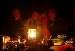 Ночная работа. Семинар по йоге. Крым, мыс Меганом, май 2011 г.