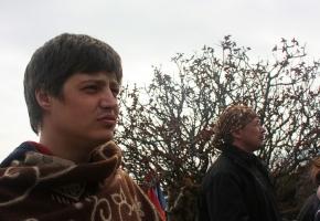 Практика. Ученики Черниговской школы йоги. Семинар по йоге в Крыму, май 2011г.
