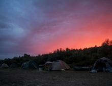 Наш палаточный городок