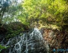 Водопад Гук в Карпатах