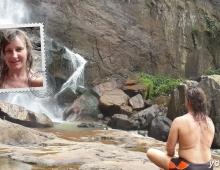 Медитация на водопаде
