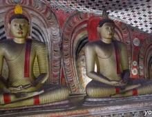 Будды в пещерном городе