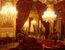 Париж. Лувр. Будуар в апартаментах Наполеона