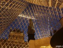 Париж. Лувр. Вид через