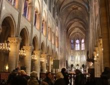 Париж. Собор Парижской Богоматери. Алтарь