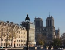 Париж. Собор Парижской Богоматери. Фасад