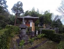 常寂光寺に開山堂です。 - зал основателя Дзёдзяккодзи.