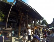 神社 - Синтоистский храм (на территории Кинкакудзи)