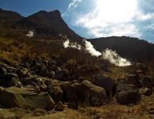 火山の煙の谷 - Долина вулканического дыма