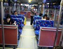 箱根のトラムの中に - в трамвае в Хаконе