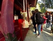 神社の神に懇願 - просьба к богу храма (обычай в Японии)