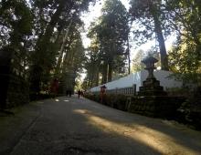 神社への道中で - на пути в синтоистский храм