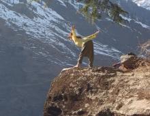 Ха-тха на скале