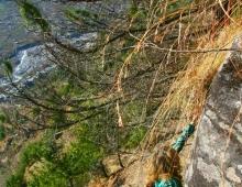 Подъем на вершину горы