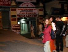 Гостинечный комплекс - ночной Ришикеш (центр йоги город близнец Харидвара)