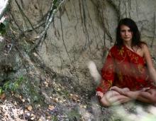 Медитация в лесу. Семинар сплав по Десне
