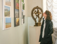 Фотовыставка Йога Тревел