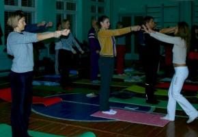 Упражнение для укрепления нервной системы.