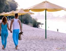 Чернигов, йога на Золотом пляже