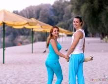 Набор в группы парной йоги