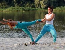Поддержки и балансы, йога в Чернигове