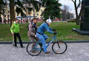 Первые вело-шаги.